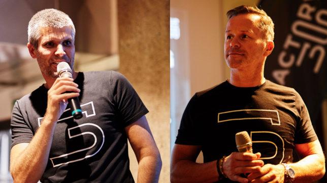 Michael Eisler und Bernhard Lehner. © startup300, Montage Trending Topics