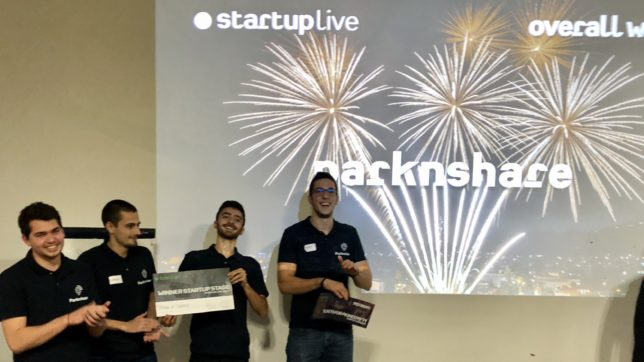 Team Parknshare was formed during a hackathon eight months ago ©TrendingTopics