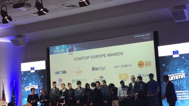 The Startup Europe Awards Ceremony was chaired by the European Commissioner for the Digital Economy and Society Mariya Gabriel ©TrendingTopics