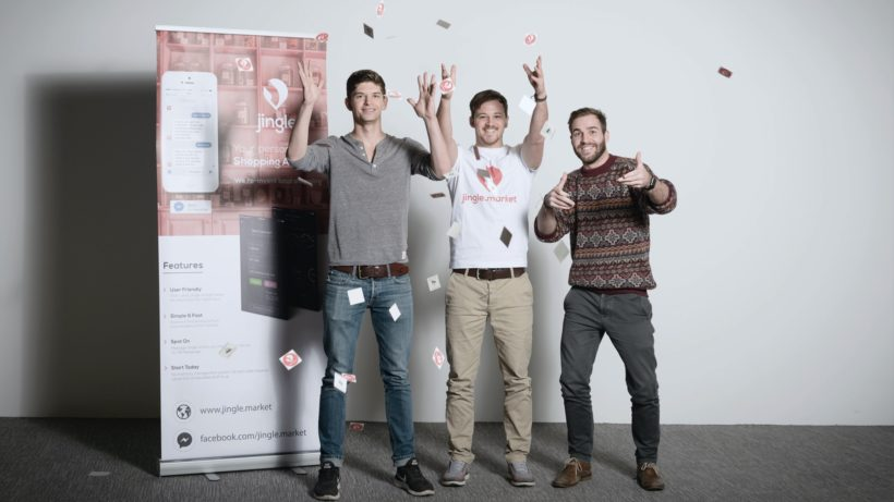 Gregor Wallner, Lukas Binder und Kevin Bachmann von Jingle. © Jingle GmbH