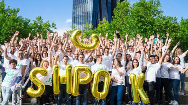 Das Shpock-Team zu fröhlicheren Zeiten. © Shpock