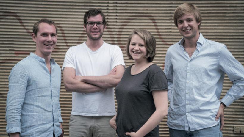 Das Sindbad-Team: Andreas Lechner, Matthias Lovrek, Janet Kuschert und Joseph Kap-Herr. © Sindbad