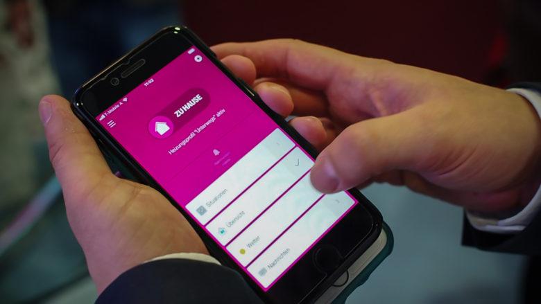 Die Smart-Home-App als zentrales Steuerungselement. © Trending Topics