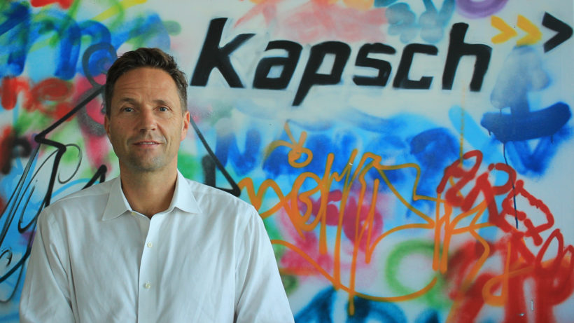 Marcus Handl is Head of Corporate Development & Innovation at Kapsch © Kapsch