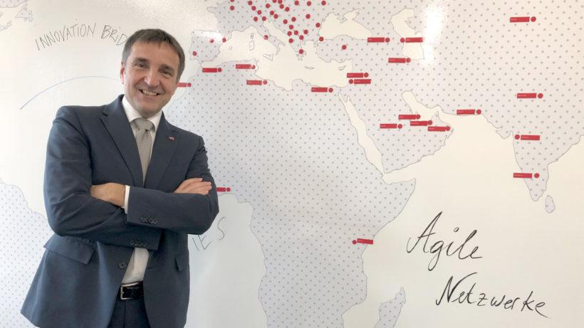 Der Leiter der Außenwirtschaft Austria der WKÖ, Michael Otter © Gerald Reischl