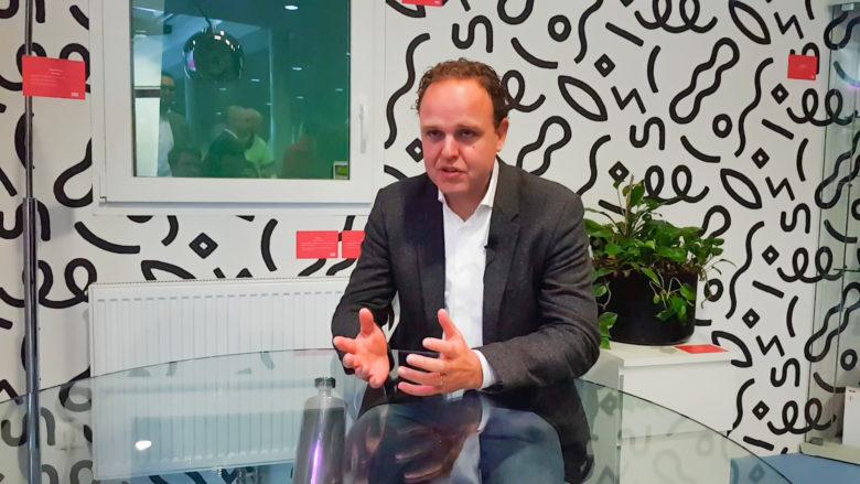 Jan Willem Stapel, Geschäftsführer für das Privatkundengeschäft von T-Mobile Austria. © Trending Topics