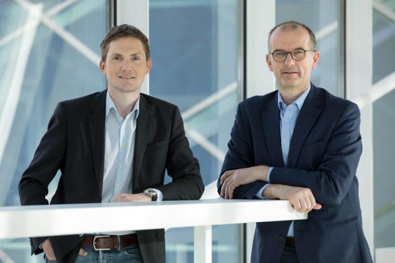 Horst Gaisbauer, rechts Christian Matzinger, beide Beteiligungsmanagement OÖ HightechFonds. © OÖ HightechFonds