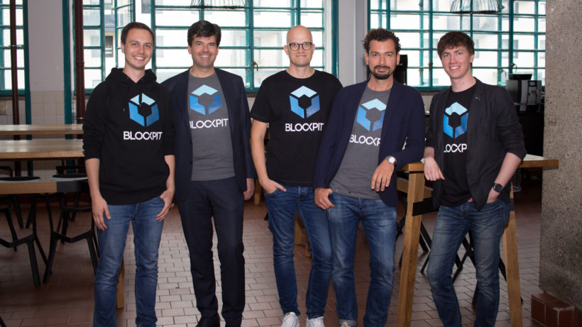 Das Blockpit-Team in der Linzer Tabakfabrik. © Blockpit