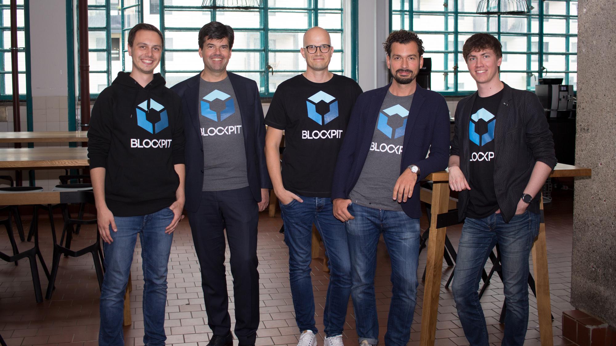 Das Blockpit-Team in der Linzer Tabakfabrik. © Blockpit