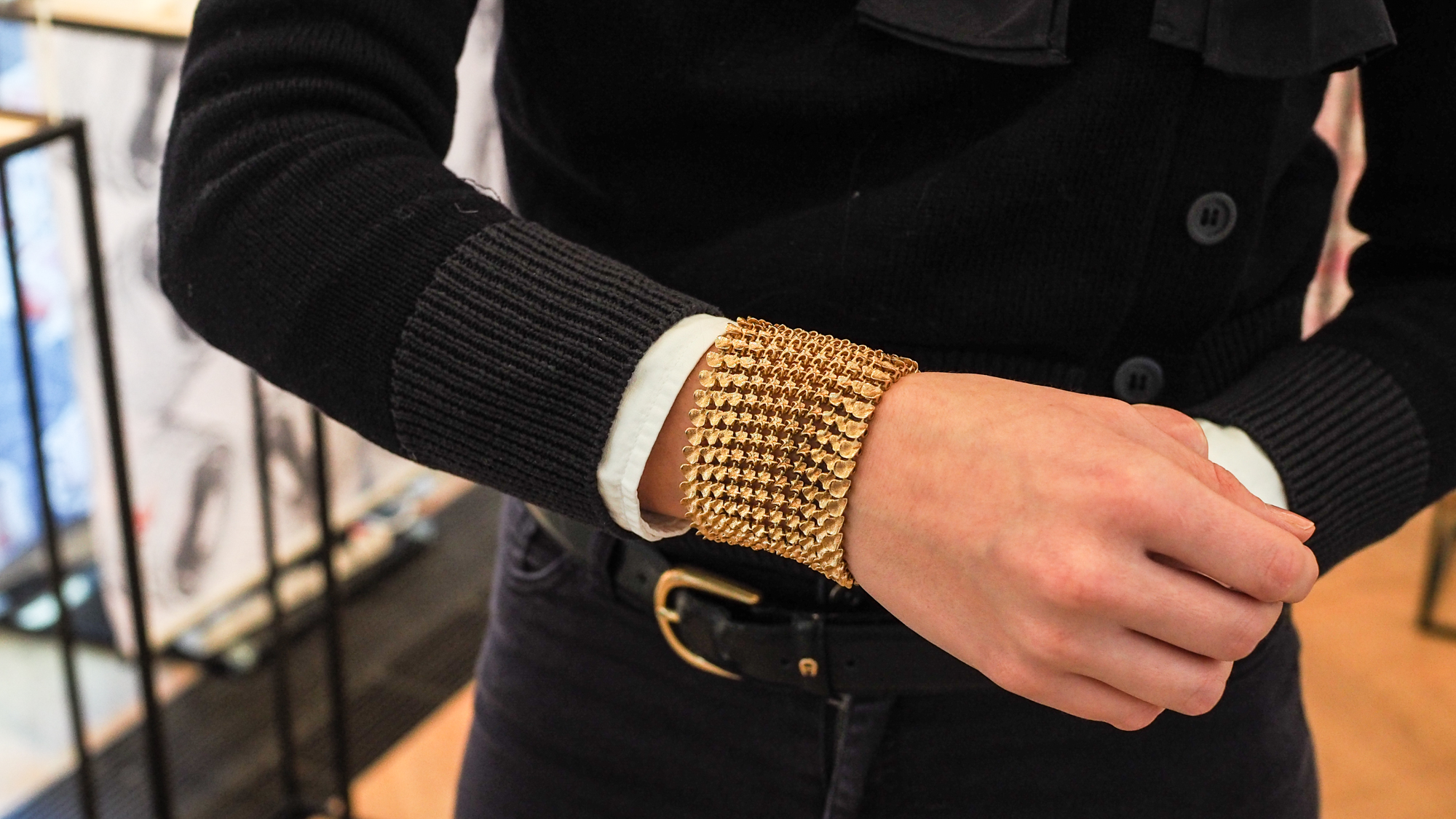 Marie Boltensterns Armband aus 18-karätigem Gold kommt aus dem 3D-Drucker © Trending Topics
