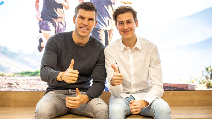 Moritz Lechner (Freebiebox) und Florian Gschwandtner (Runtastic). © Runtastic