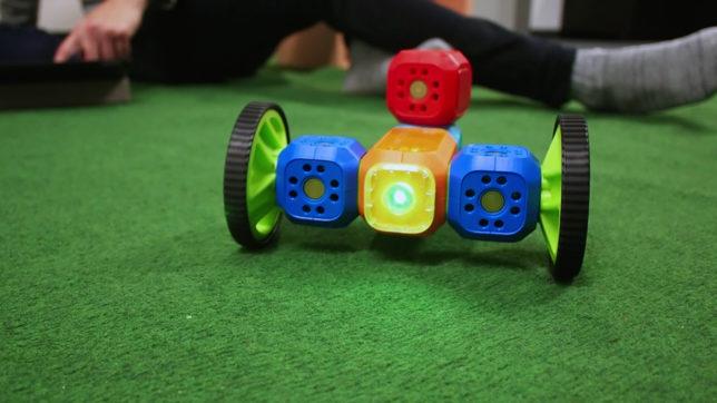 Ein Roboter, gebaut mit Robo Wunderkind. © Trending Topics