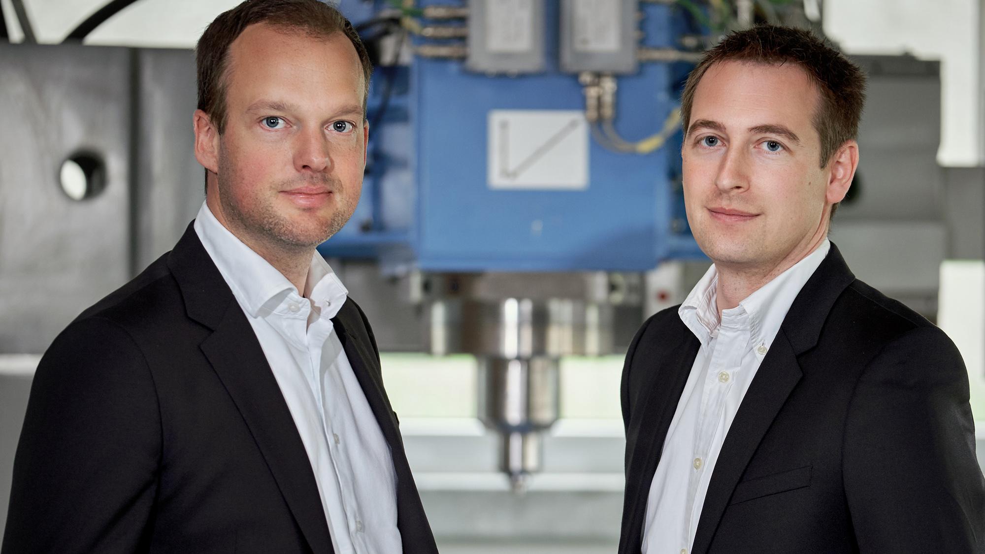 Stirtec Gründer Thomas Weinberger und Gunter Figner © Stirtec