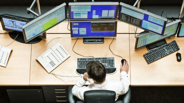 Börsenhändler an der Stuttgarter Börse © Stuttgarter Börse