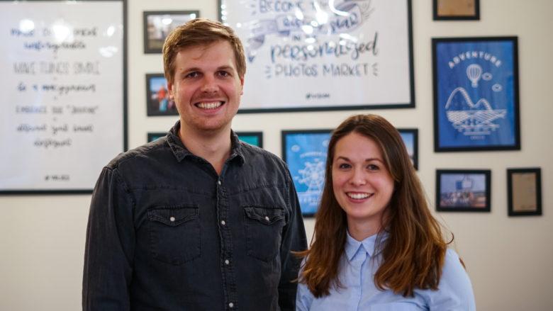 Andreas Röttl und Bianca Busetti von journi. © Trending Topics