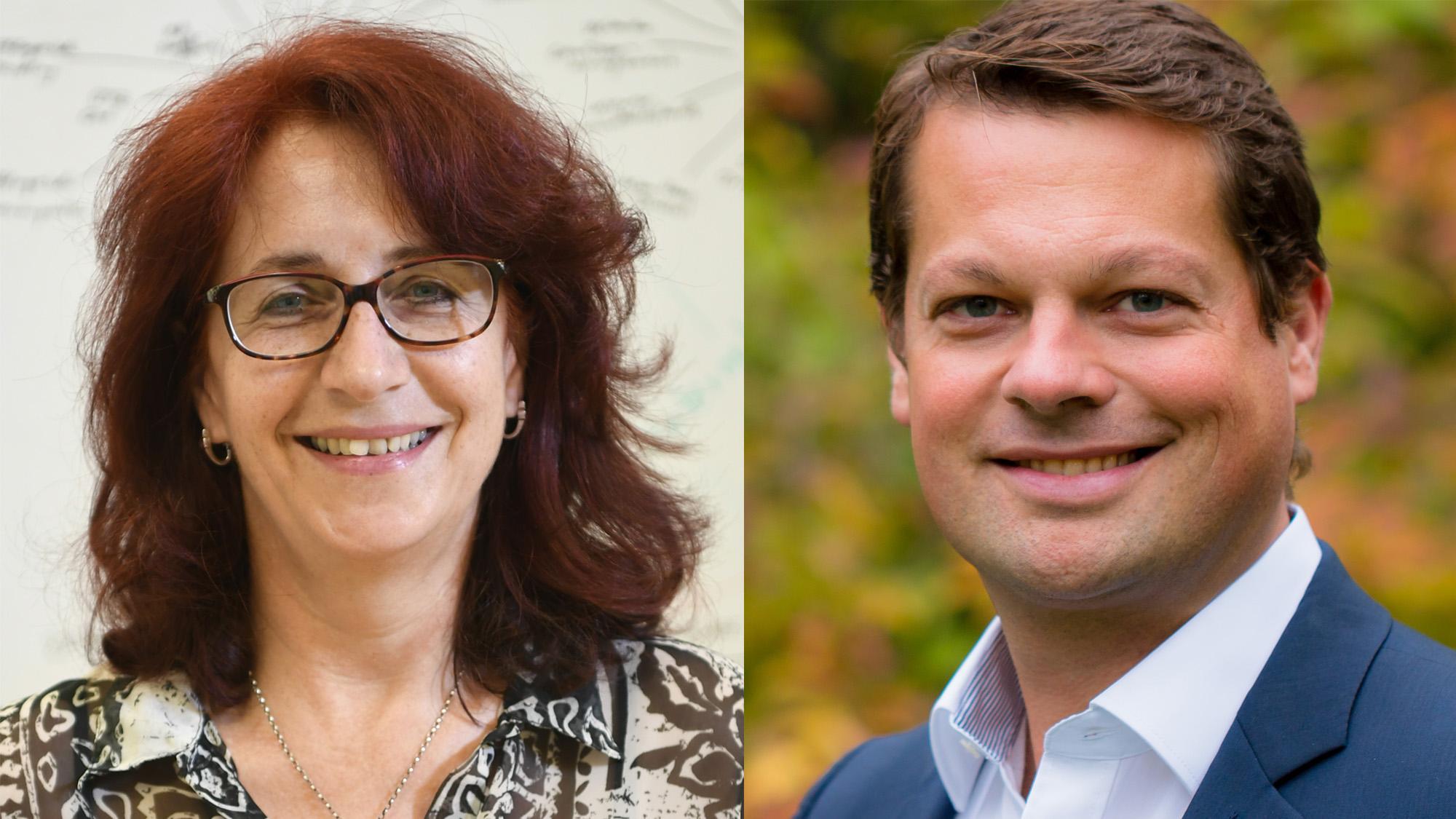 Brigitte Lutz und Michael Schramm © Lukas Lorenz, Céline Juyou, Montage: Trending Topics