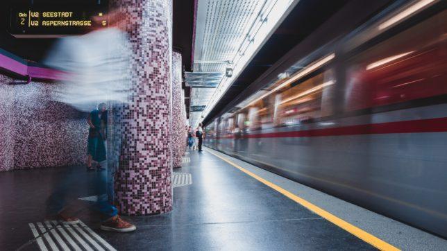 In der Wiener U-Bahn. © Unsplash