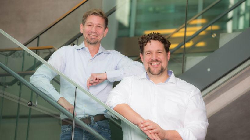 Martin Herdina, CEO und Philipp Nagele, CTO von Wikitude © Mike Vogl