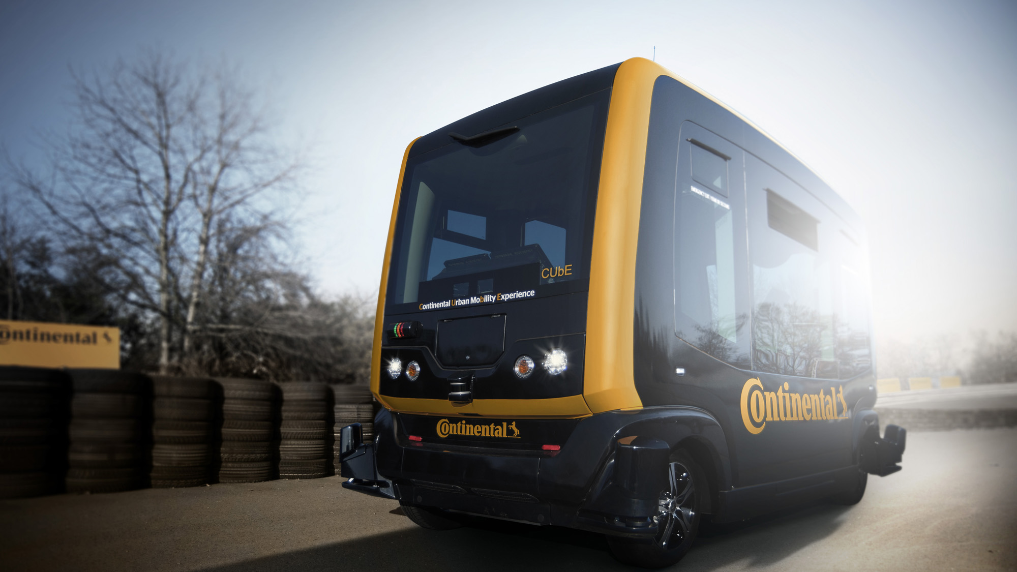 CUbE, der autonom fahrende Mini-Bus von Continental © Continental