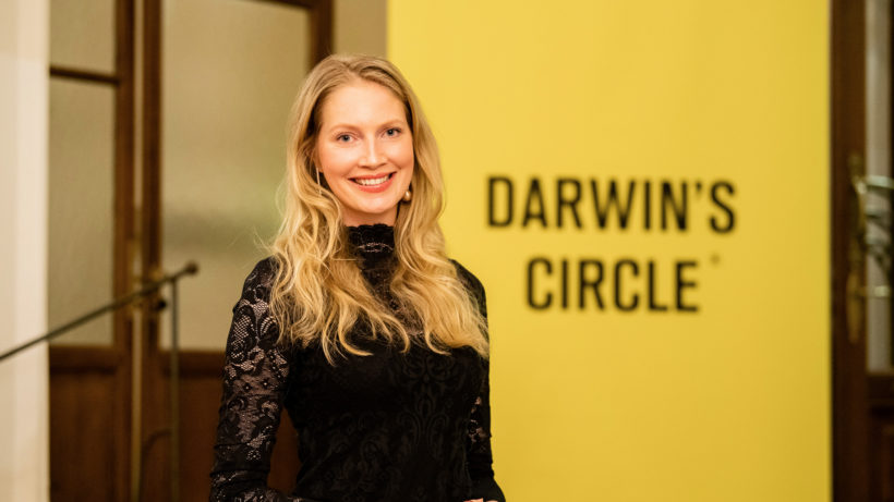 Darwin's Circle-Chefin Kathrin Kuess. © Darwin's Circle