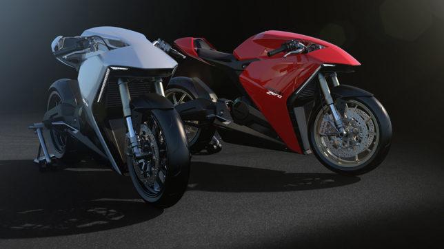 Das Konzept der Ducati Zero. © Bart Heijt & Fernando Pastre