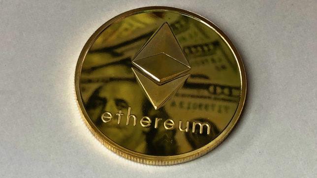 Gängiges Symbolbild für Ethereum. © Pexels