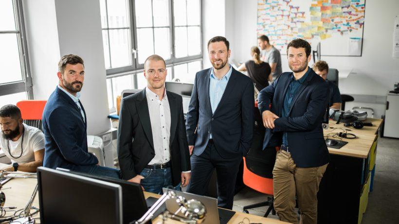 Das Anyline-Team im Wiener Büro. © Anyline