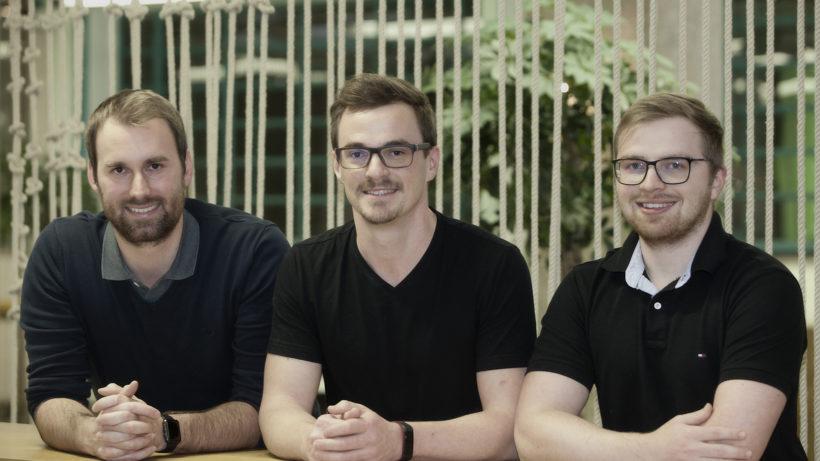 Das Gründer-Team von musicbooking.com vlnr: Maximilian Rauch (CTO), Markus Kaar (CEO), Thomas Zöchling (CPO) © musicbooking