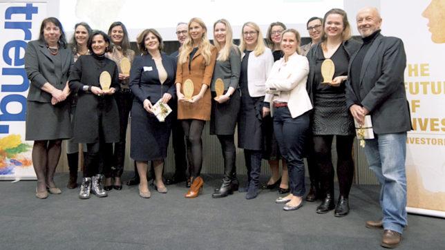 Preisverleihung beim Investorinnen-Award. © Trending Topics