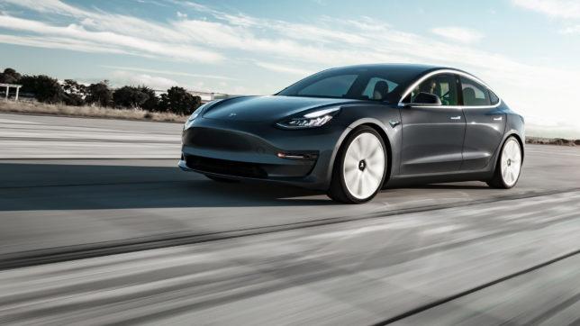 Model 3 von Tesla. © Tesla