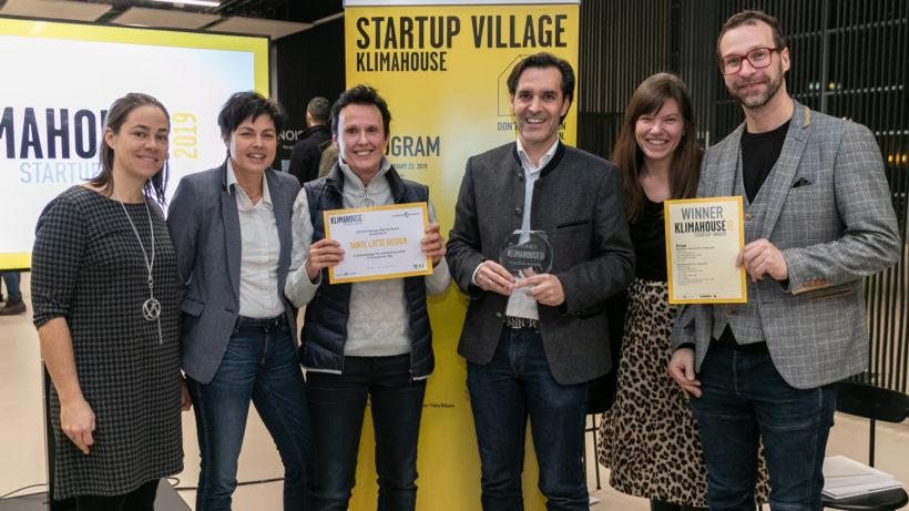 Das Team von Tante Lotte beim Klimahouse Award © Klimahouse Award
