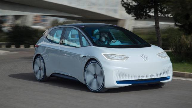 Der VW ID, kommt 2020 auf den Markt. © Volkswagen AG