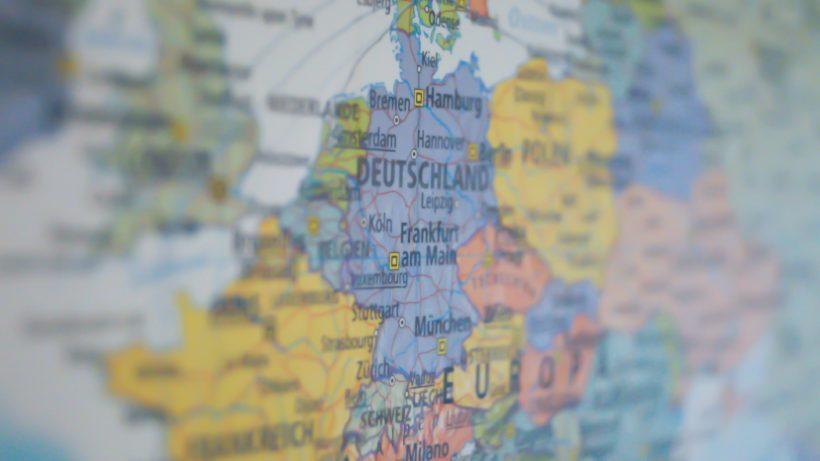 Europa auf der Landkarte. © Pexels