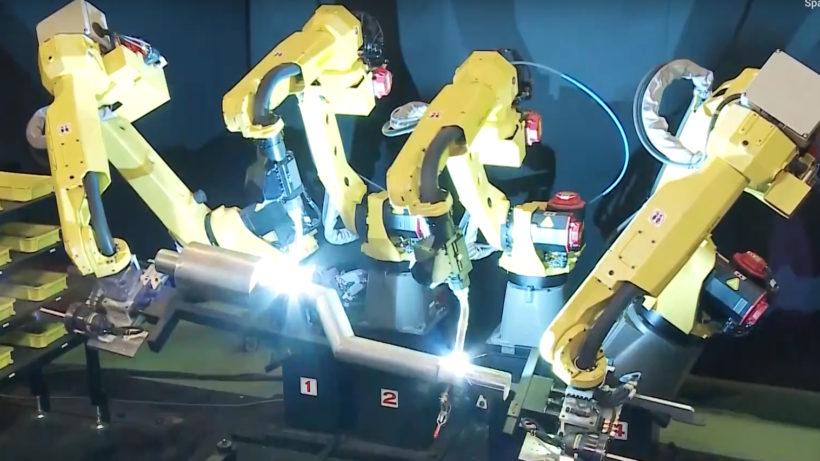 Roboterarme von Fanuc © Fanuc/YouTube