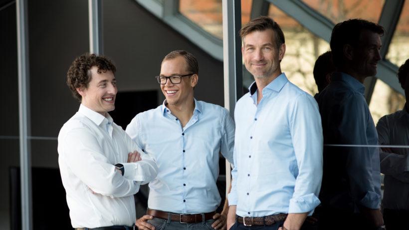 Die neue Presono-Führung: CTO Sebastian Gierlinger, COO Martin Behrens und CEO Lukas Keller © Presono/Anzhelika Kroiss