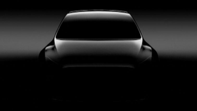 Konturen des Model Y. © Tesla