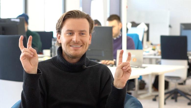 Eirc Demuth, CEO von Bitpanda. © Trending Topics