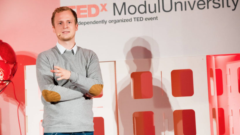Felix Häusler, Gründer und CEO bei Grape. © Grape