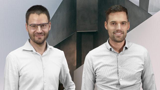 Die Luke Roberts-Gründer Lukas Pilat und Robert Kopka. © Luke Roberts