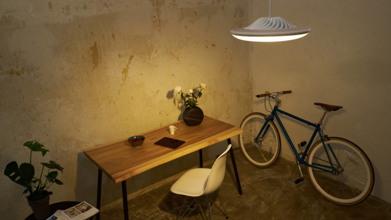 Die Smart-Home-Lampe von Luke Roberts. © Luke Roberts