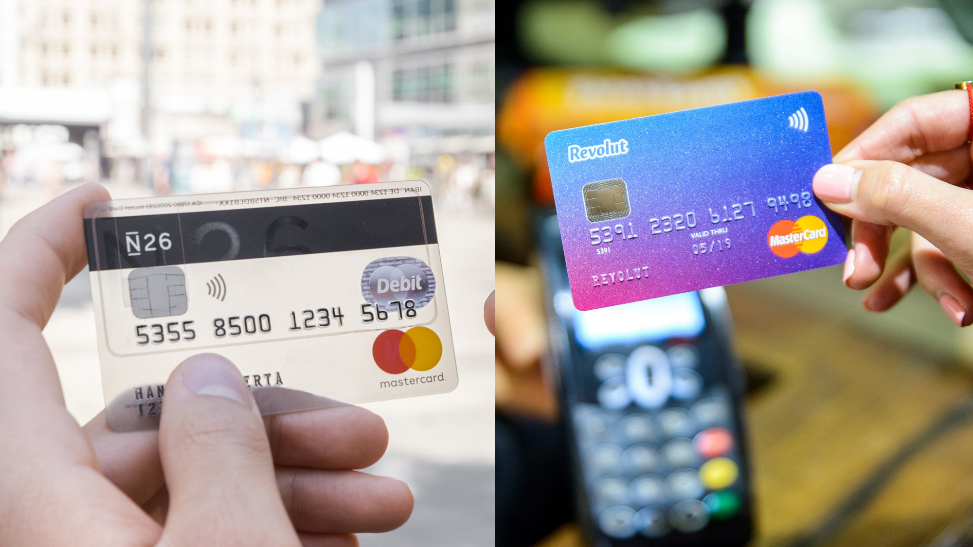 N26 and Revolut rides for Europe  Both see themselves in the