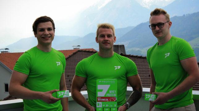 Die Protygo-Gründer Marco, Rene und Andreas. © Protygo
