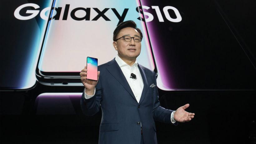 DJ Koh von Samsung präsentiert das Galaxy S10 - und bald auch das S20. © Samsung