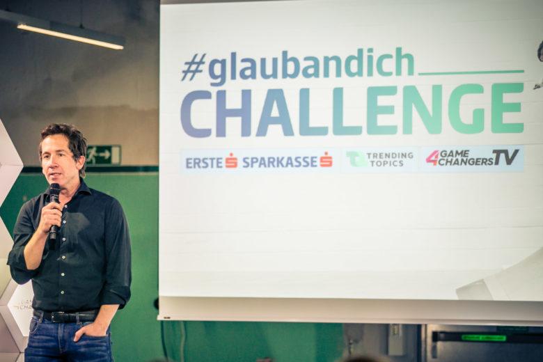#glaubandich-Challenge in der Werkstätte Wattens. © David Bitzan/Trending Topics