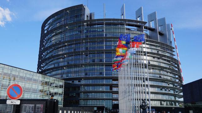 Das EU-Parlament in Straßburg © Pixabay