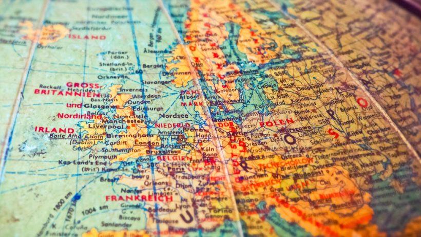 Europa auf der Karte. © Pixabay