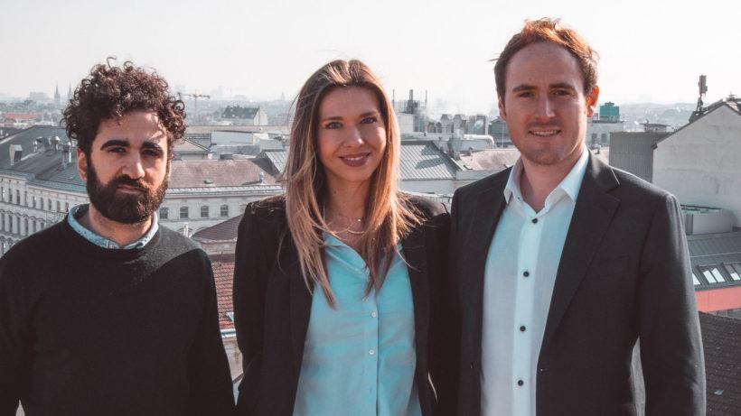 Das Team von iDwell: Shajan Djannatian (Business Development), Anna-Katharina Matzenberger (Account Manager & Consultant), Alexander Roth (CEO) © Alexander Landskron