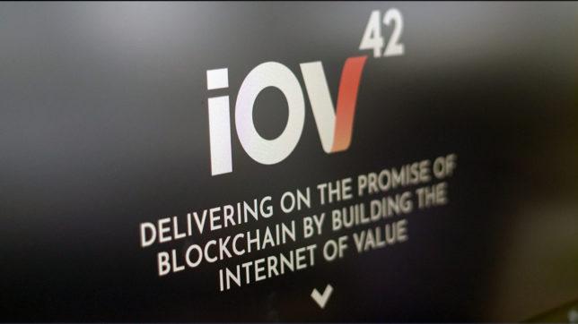 Die Startseite von iov42. © Trending Topics