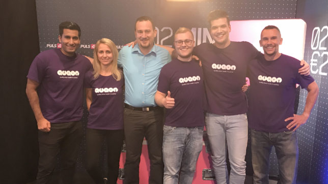 Das Team von Quqon rund rund um Markus Hössinger © Quqon