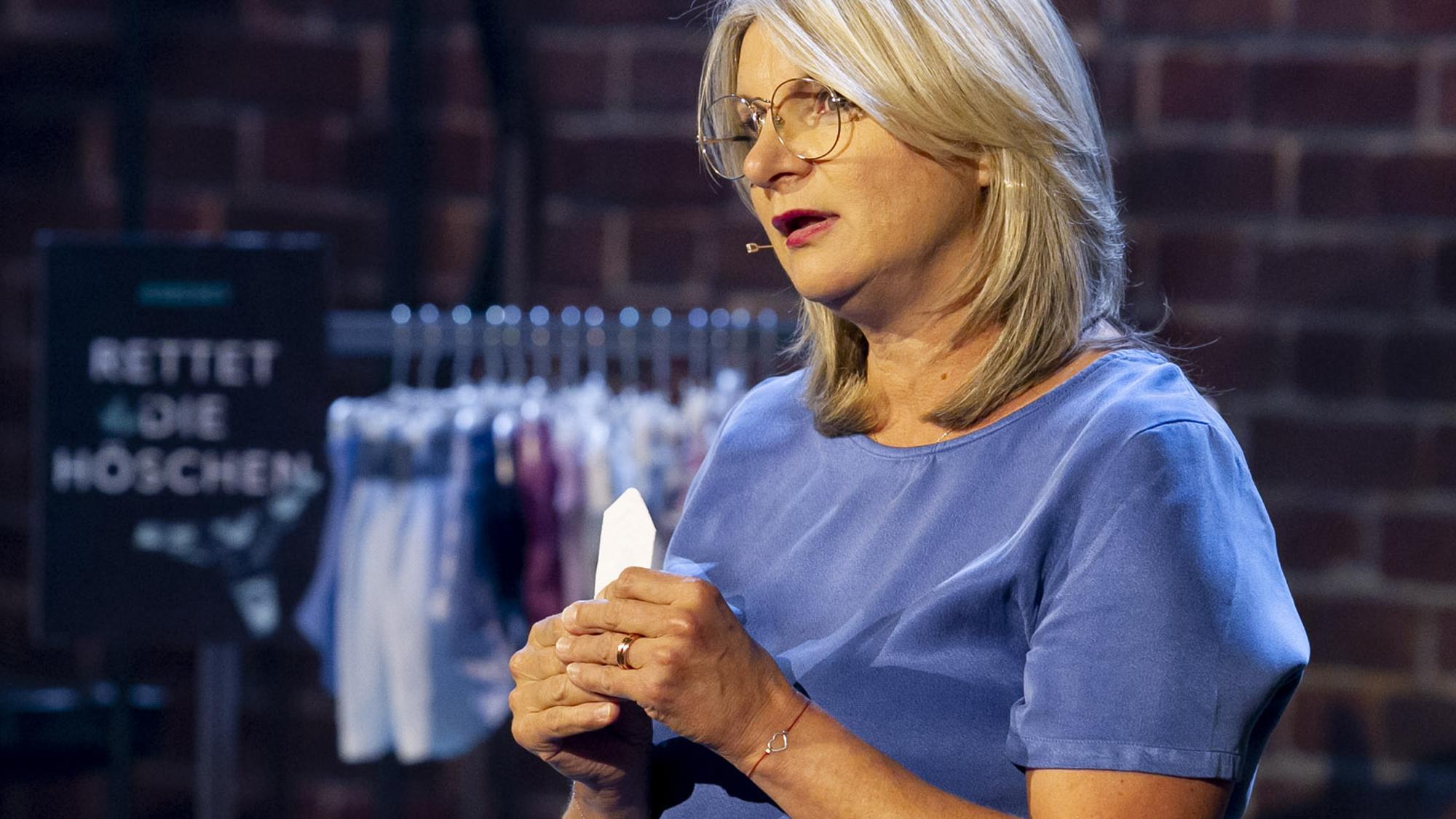 Andrea Lehner präsentiert A'Secret bei 2 Minuten 2 Millionen © Gerry Frank